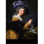 Puzzle  Grafika-02192 Louise-Élisabeth Vigee le Brun : Comtesse de Cérès, 1784