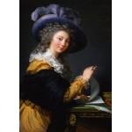 Puzzle  Grafika-02194 Louise-Élisabeth Vigee le Brun : Comtesse de Cérès, 1784