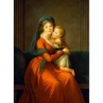 Puzzle  Grafika-02195 Louise-Élisabeth Vigee le Brun : Princesse Alexandra Golitsyna et son fils Piotr, 1794