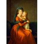 Puzzle  Grafika-02196 Louise-Élisabeth Vigee le Brun : Princesse Alexandra Golitsyna et son fils Piotr, 1794