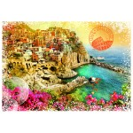 Puzzle  Grafika-02198 Travel around the World - Italie