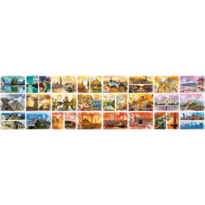 Plus Grand Puzzle du Monde - Travel around the World