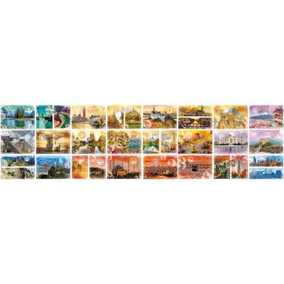 Puzzle Grafika-02199 Travel around the World