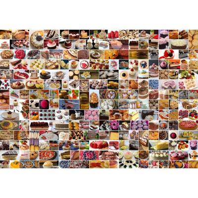 Puzzle Grafika-02206 Collage - Gâteaux