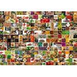 Puzzle  Grafika-02215 Collage - Couleurs dans la Cuisine
