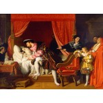 Puzzle  Grafika-02250 Jean-Auguste-Dominique Ingres : François Ier reçoit les derniers soupirs de Léonard de Vinci, 1818
