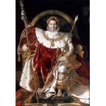 Puzzle  Grafika-02253 Jean-Auguste-Dominique Ingres : Napoléon sur le trône impérial, 1806