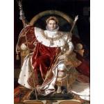 Puzzle  Grafika-02254 Jean-Auguste-Dominique Ingres : Napoléon sur le trône impérial, 1806