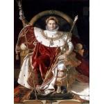 Puzzle  Grafika-02255 Jean-Auguste-Dominique Ingres : Napoléon sur le trône impérial, 1806