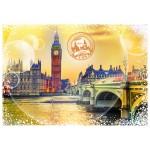 Puzzle  Grafika-02271 Travel around the World - Royaume Uni