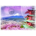 Puzzle  Grafika-02276 Travel around the World - Japon
