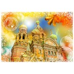 Puzzle  Grafika-02280 Travel around the World - Russie