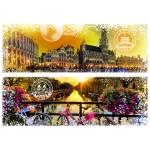 Puzzle  Grafika-02290 Travel around the World - Belgique et Pays-Bas