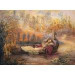 Puzzle  Grafika-02304 Josephine Wall - Dreams of Camelot