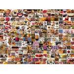 Puzzle  Grafika-02311 Collage - Gâteaux