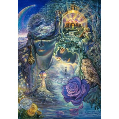 Puzzle Grafika-02329 Josephine Wall - Key to Eternity