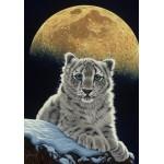 Puzzle  Grafika-02410 Schim Schimmel - Moon Leopard