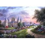 Puzzle  Grafika-02485 Dennis Lewan - Inverary Castle