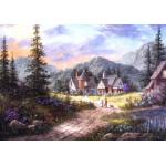 Puzzle  Grafika-02487 Dennis Lewan - Hills Of Bavaria