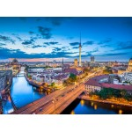 Puzzle  Grafika-02504 Deutschland Edition - Berlin au Crépuscule