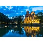 Puzzle  Grafika-02529 Deutschland Edition - Stuttgart, Johanneskirche am Feuersee