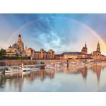 Puzzle  Grafika-02541 Deutschland Edition - Skyline Dresdener Altstadt