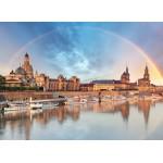 Puzzle  Grafika-02543 Deutschland Edition - Skyline Dresdener Altstadt