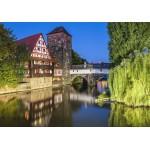 Puzzle  Grafika-02551 Deutschland Edition - Nuremberg