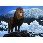 Puzzle  Grafika-02601 Schim Schimmel - King of Kilimanjaro