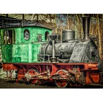 Puzzle  Grafika-02606 Locomotive