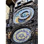 Puzzle  Grafika-02611 Horloge Astronomique, Prague