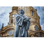 Puzzle  Grafika-02614 Deutschland Edition - Frauenkirche, Martin Luther, Dresden