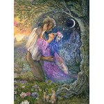Puzzle  Grafika-02625 Josephine Wall - Love Between Dimensions