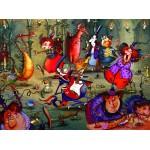 Puzzle  Grafika-02637 François Ruyer - La Fête des Sorcières