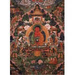 Puzzle  Grafika-02668 Buddha Amitabha in His Pure Land of Suvakti