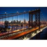 Puzzle  Grafika-02670 Brooklyn Bridge, Manhattan, New York