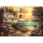 Puzzle  Grafika-02692 Chuck Pinson - Cottage by the Sea