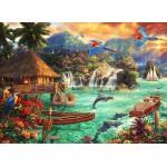 Puzzle  Grafika-02696 Chuck Pinson - Island Life