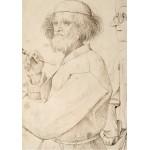 Puzzle  Grafika-02793 Brueghel Pieter - Le Peintre et l'Acheteur, 1565