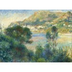 Puzzle  Grafika-02800 Auguste Renoir - Vue de Monte Carlo du Cap Martin