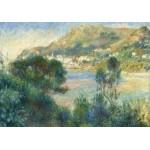 Puzzle  Grafika-02801 Auguste Renoir - Vue de Monte Carlo du Cap Martin