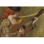 Puzzle  Grafika-02803 Auguste Renoir - Jeune Espagnole avec une Guitare