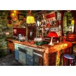 Puzzle  Grafika-02806 Ruin Bar in Budapest