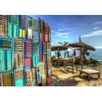 Puzzle  Grafika-02808 Windows on Paradise