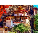 Puzzle  Grafika-02886 Taktshang, Bhoutan