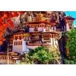 Puzzle  Grafika-02887 Taktshang, Bhoutan