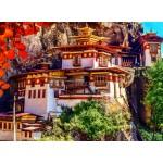 Puzzle  Grafika-02888 Taktshang, Bhoutan