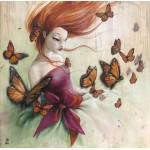 Puzzle  Grafika-02889 Misstigri - Papillons