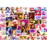 Puzzle  Grafika-02909 Collage - Femmes
