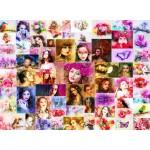 Puzzle  Grafika-02910 Collage - Femmes